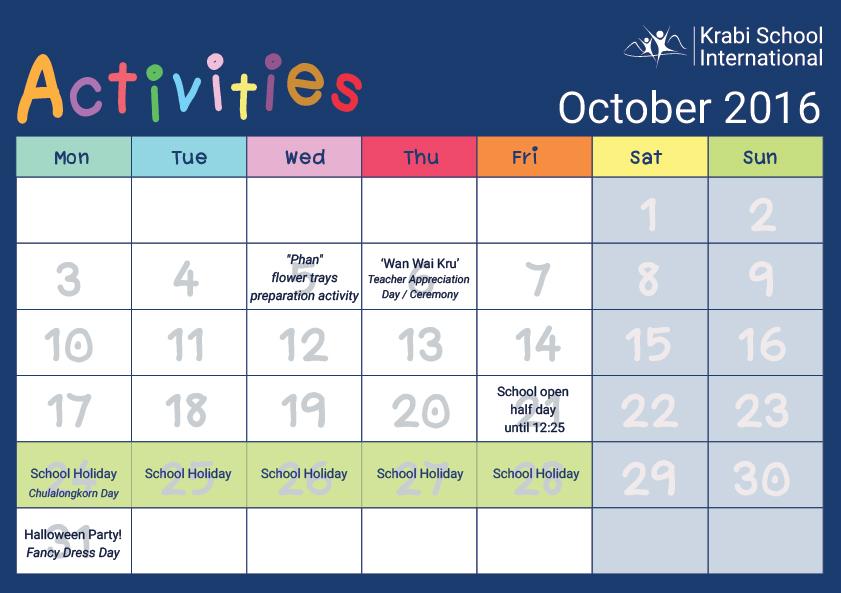 oct-activities
